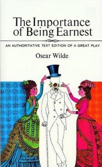 """The Importance of Being Earnest,"" by Oscar Wilde"