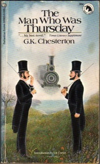 """""""The Man Who Was Thursday,"""" by G. K. Chesterton"""