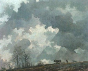 """""""Spring Sky,"""" by Eric Sloane"""