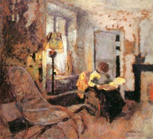 """Woman Reading,"" by Edouard Vuillard"