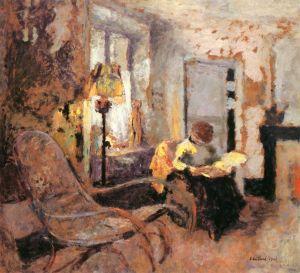 """Woman Reading,"" by Edouard Vuillard"