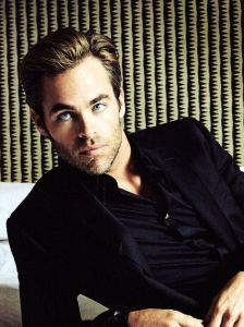 How I imagine Alex. (played by Chris Pine)