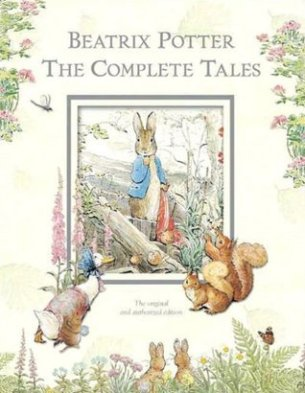 So cute! I've been searching for a Complete Tales by Miss Potter for years!