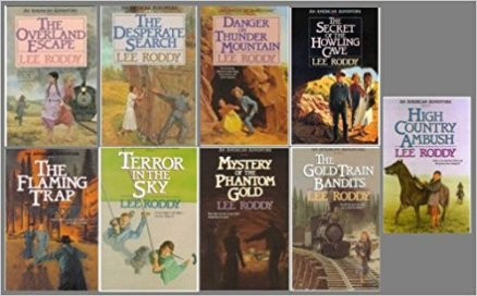 When I was in middle school, I read this series to escape the world around me. I gobbled these books left and right. I took them home with me to share with future nieces someday.
