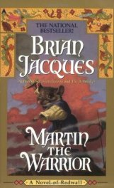 I remember first reading this Jacques book all afternoon on a summer's day in our front yard when I was a kid. This is actually the audiobook, which I got to hear the author's accent.