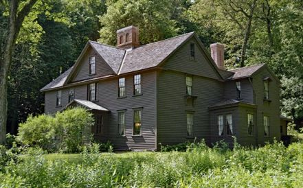 Louisa May Alcott's home.