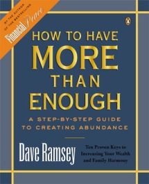 I'm not Ramsey's biggest fan, but I have been learning from his Total Money Makeover and will probably from this one, too.