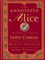 Mine doesn't have quite as nice a cover as this one and there's a huge crack in it, but I'd rather have an annotated Alice than not.